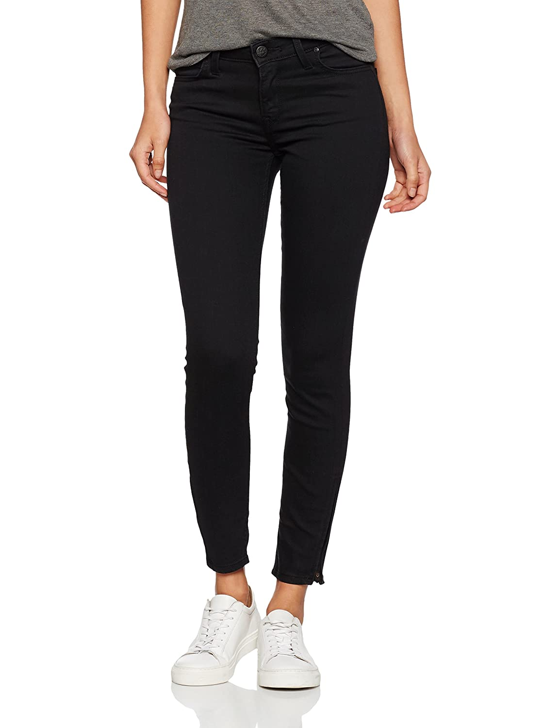 Lee Scarlett Cropped, Vaqueros Skinny para Mujer