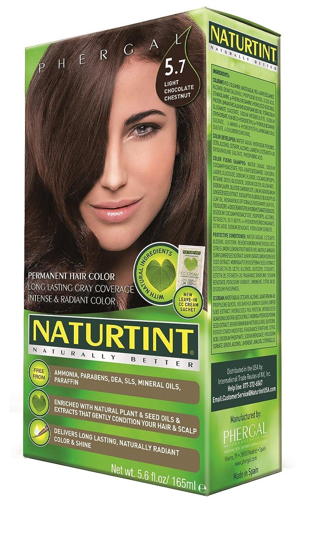 Amazon.com : Naturtint Permanent Hair Color - 5.7 Light Chocolate ...