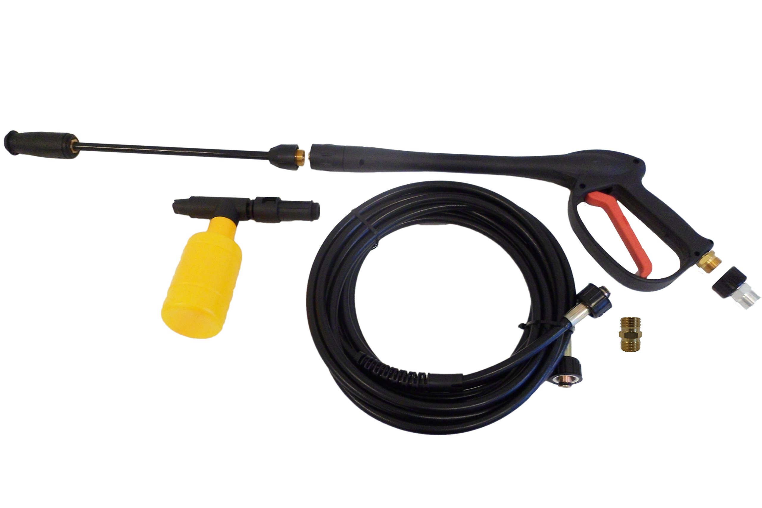 MTM Hydro 3,000 PSI Pressure Washer Gun Hose and Wand Kit With M22 Connectors