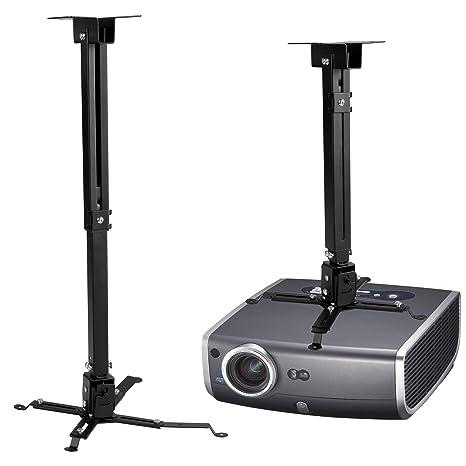 Homdox Proyector, soporte de techo para proyector soporte de techo ...