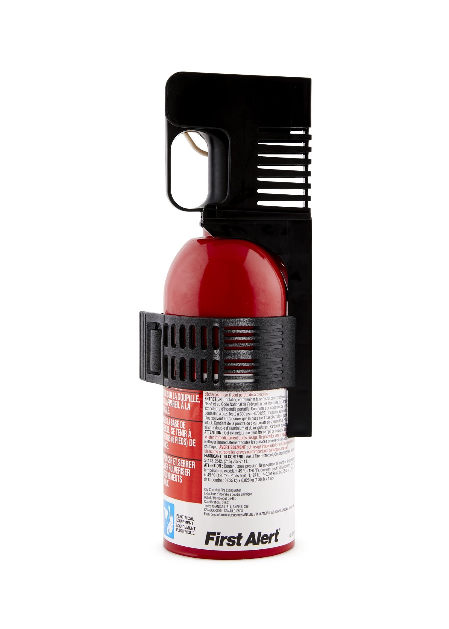 First Alert AUTO5 Auto Fire Extinguisher, Red by First Alert (Image #1)