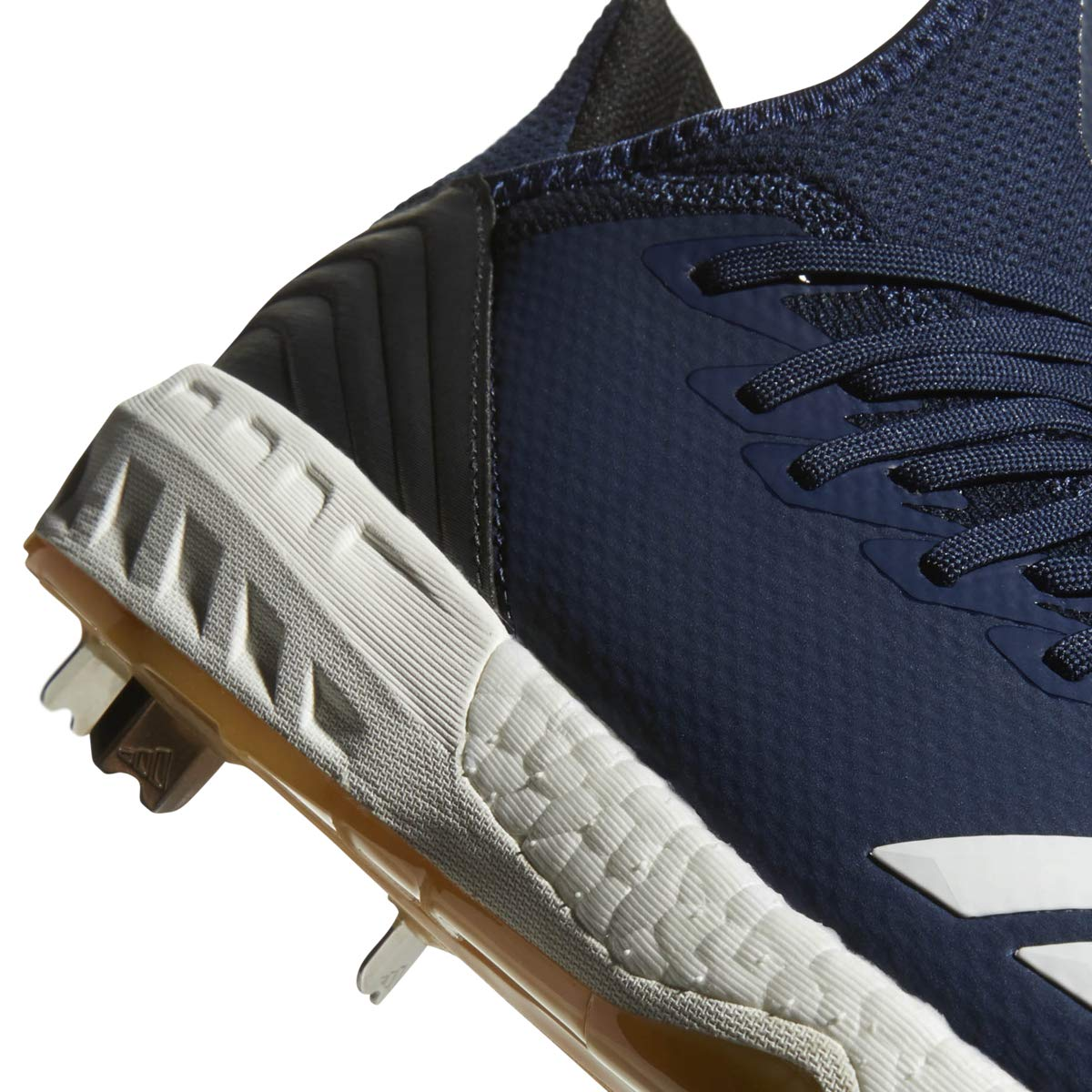 adidas Icon 4 Cleat - Men's Baseball 8 Collegiate Navy/White/Black by adidas (Image #5)