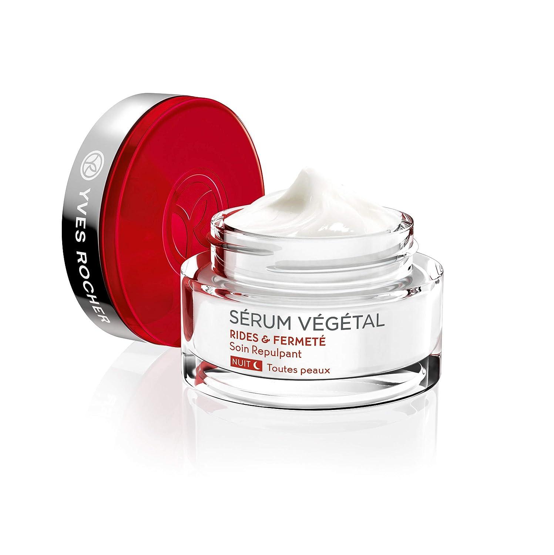 Yves Rocher Serum Vegetal Wrinkles Firmness – Plumping Care – Night 50 Ml 1.6 Fl Oz