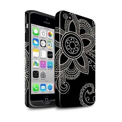 Stuff4 Phone Case/Cover/Skin/ip4s-3dtbg/tatuaje de henna Colección ...