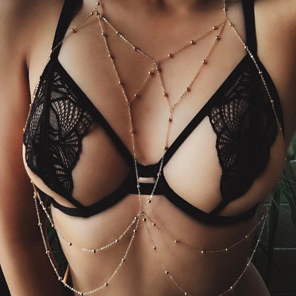 Amazon.com : Kercisbeauty Overstate Sexy Shinny Bra Backless ...