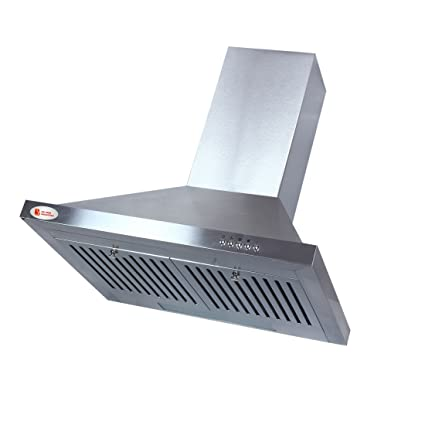 finest selection b7dd2 54550 Suraksha shine cooker hood chimney for kitchen with stainless steel finish  and buffel aluminium filter jpg