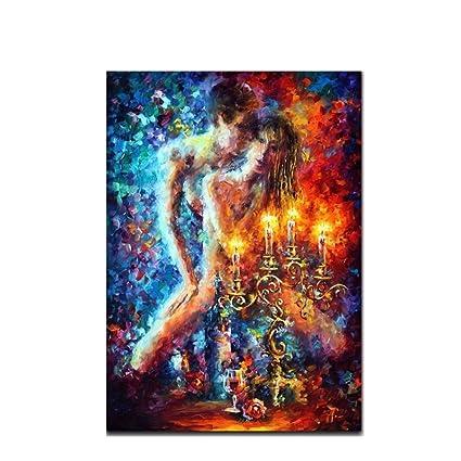 Ttkx At At Explosion Of Love Palette Cuchillo Pintura 100 Pintado Sobre