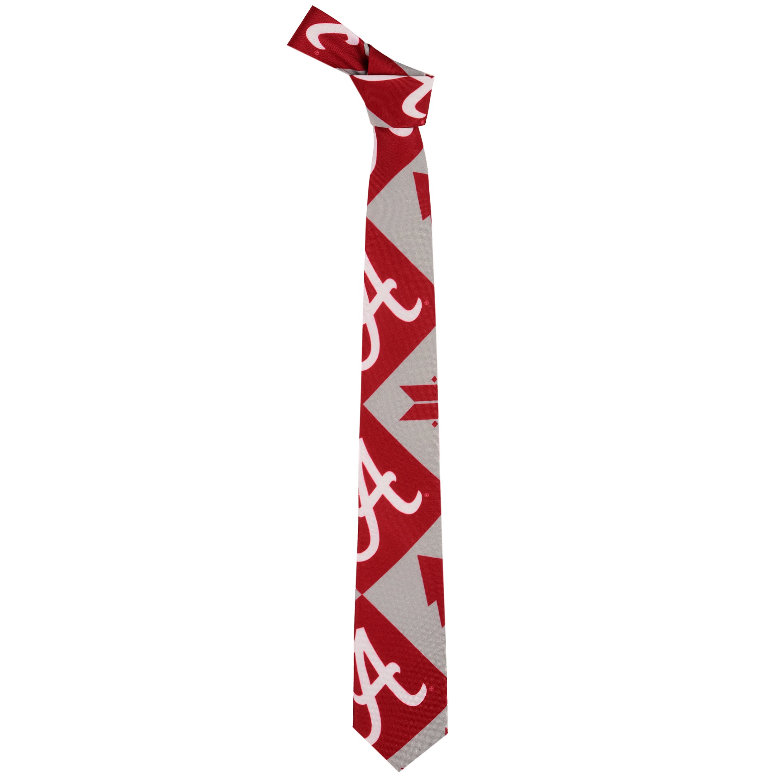 FOCO Alabama Patches Ugly Printed Tie - Mens