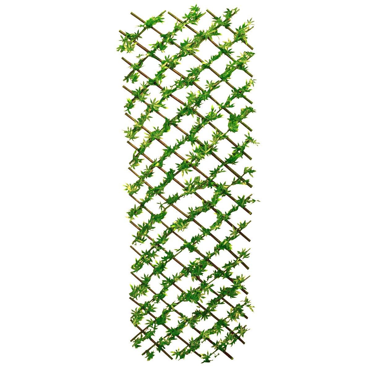 Selections Green Japanese Maple Artificial Garden Trellis (1.8m X 0.6m)
