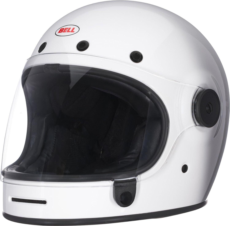 Bell Bullitt Full-Face Motorcycle Helmet Solid Gloss White, XX-Large