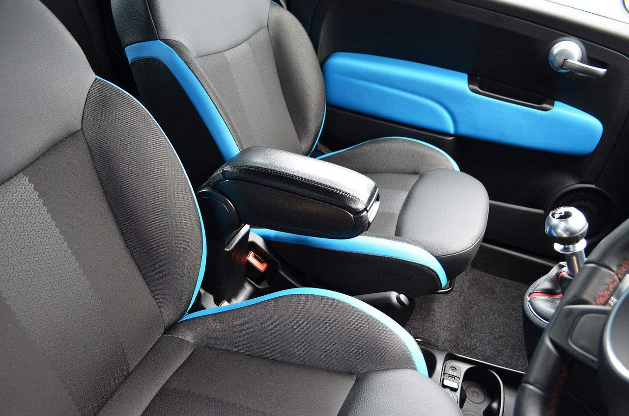 Chromeline para Adaptarse a Dacia Duster 2018-2019 Reposabrazos Central Concole Negro LETHERETTE Pratical Assembly