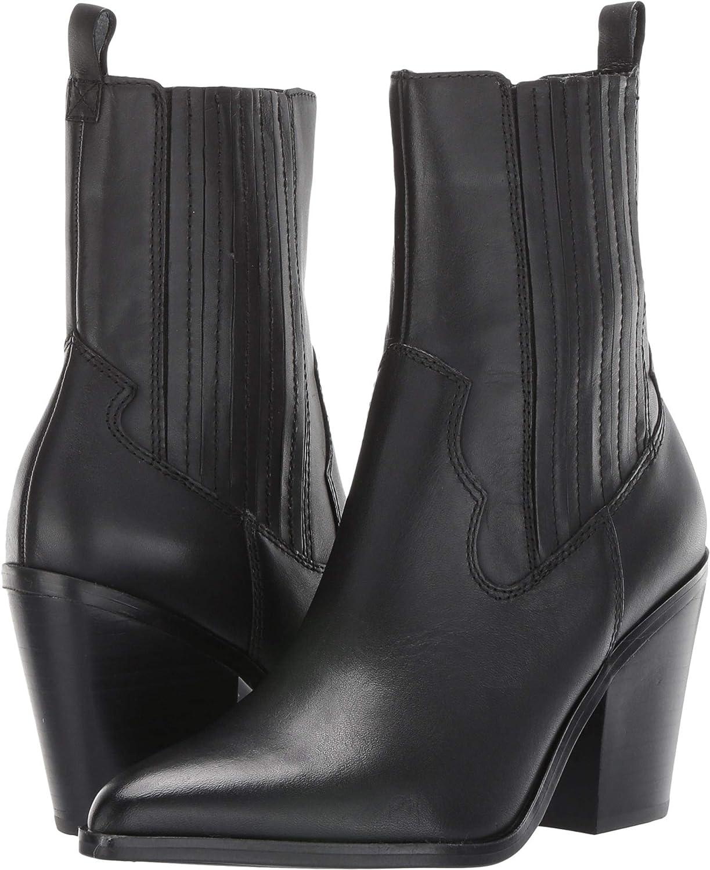 e6d585e1277 Amazon.com | ALDO Women's Drerissa Black Leather 40 B EU | Mid-Calf