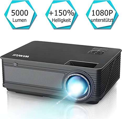 Proyector WiMiUS de 4200 lúmenes, 1280 x 800 píxeles, Full HD ...