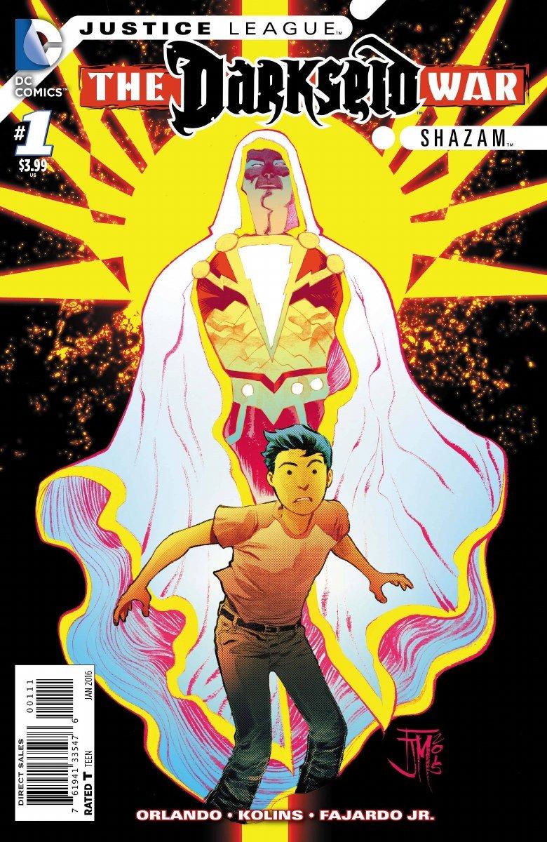 Justice League Darkseid War Shazam #1 (Gods & Men) pdf epub