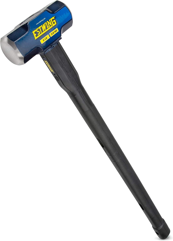 36-Inch Indestructible Handle Estwing 20-Pound Hard Face Sledge Hammer ESH-2036X