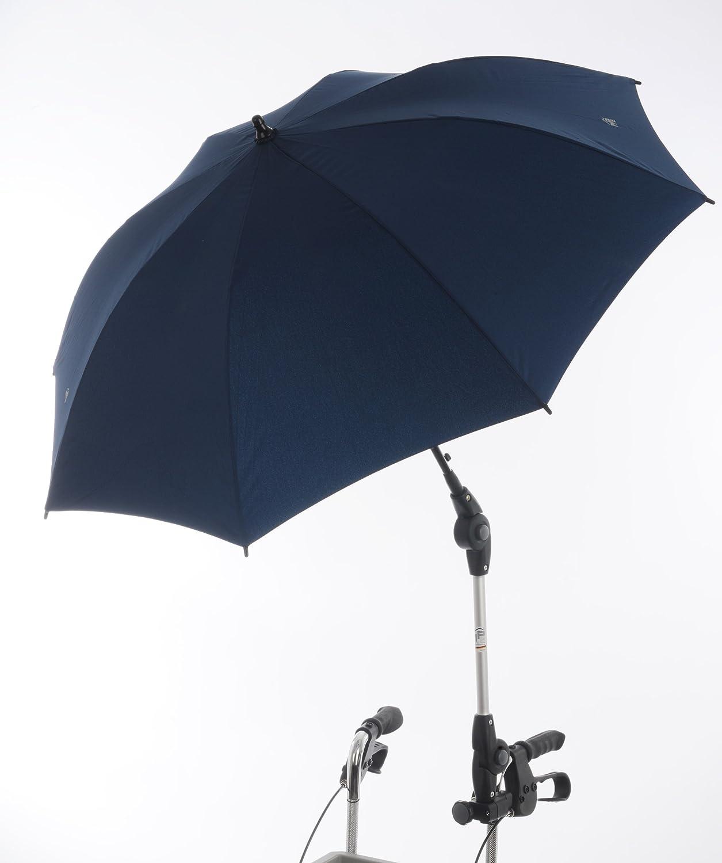 Rehaforum - Paraguas/sombrilla para andador, color azul oscuro ...