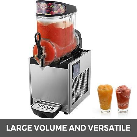 VEVOR Máquina de Granizado de Bebidas Congeladas Acero Inoxidable ...