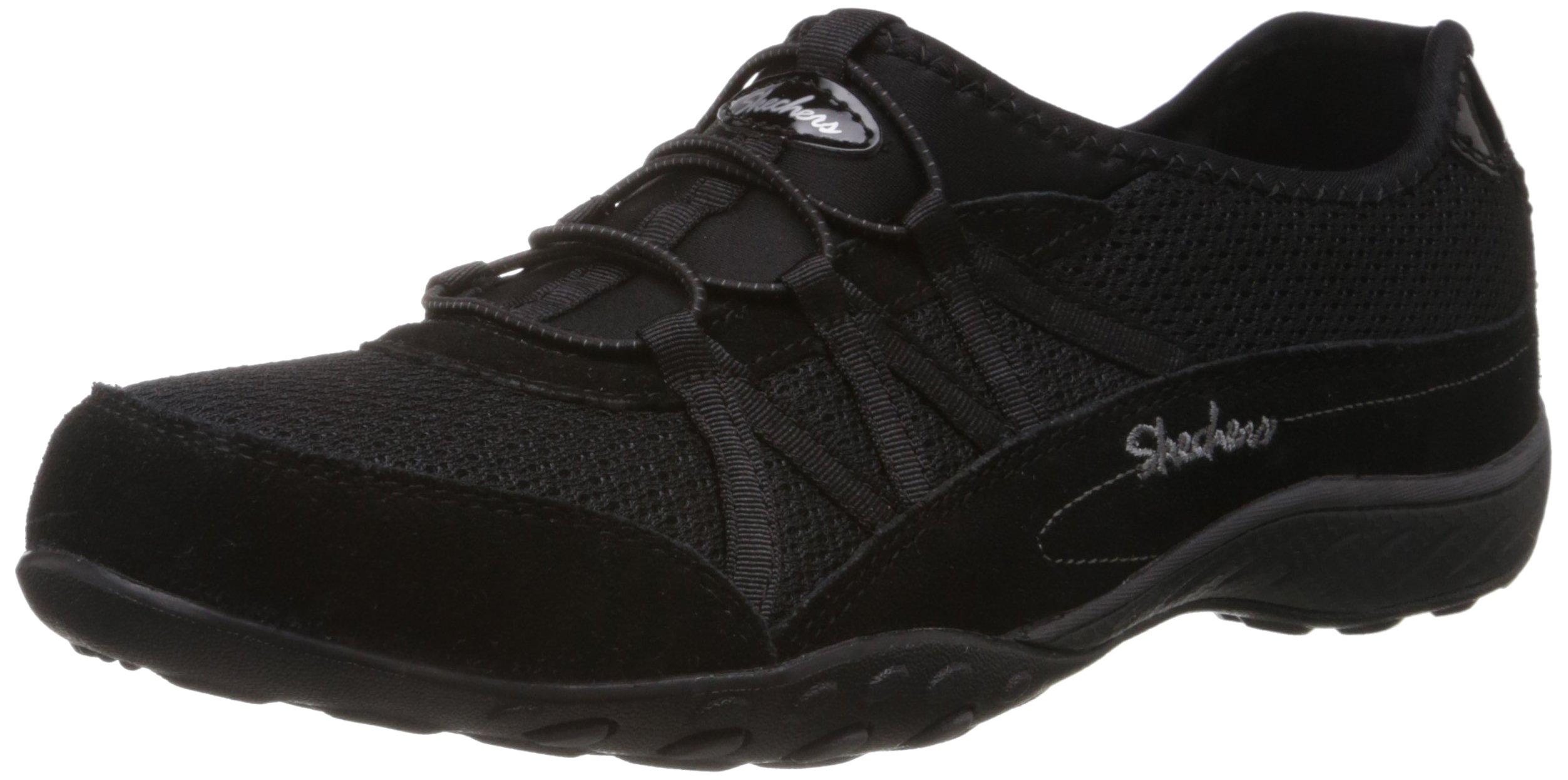 Skechers Sport Women's Relaxation Fashion Sneaker size 8, black