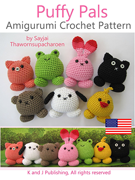 AmiguruME Faces -- Crochet faces on your Amigurumi Dolls by ... | 600x450