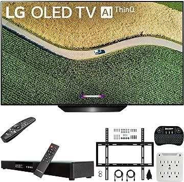 "LG OLED65C8P 65/"" 2018 OLED 4K UHD HDR Smart TV ThinQ With Bundle"