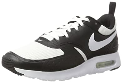 2cbc491380f0 Nike Mens Air Max Vision White Black Mesh Trainers 8 US
