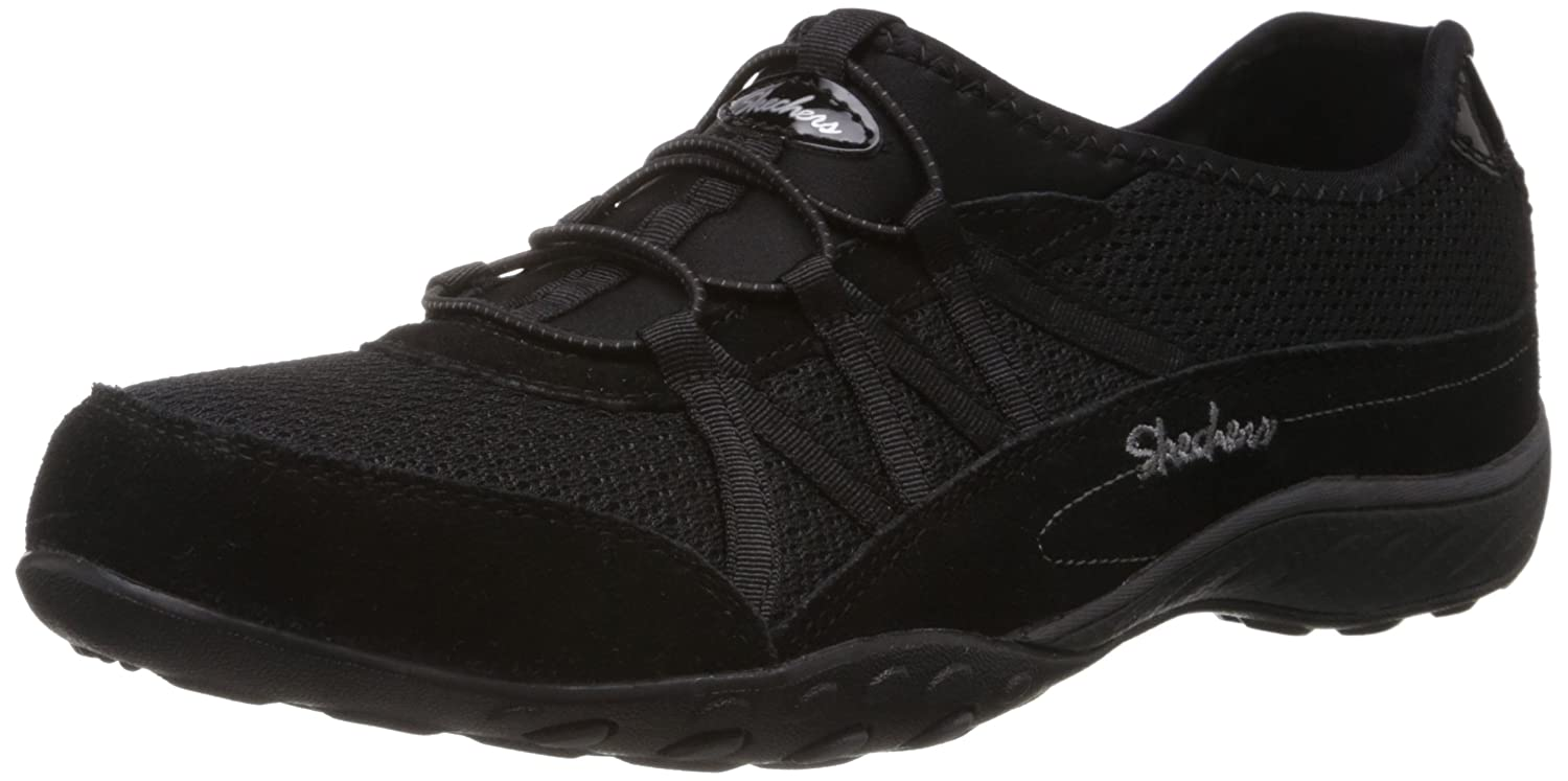 Skechers Sport Women's Relaxation Breathe Easy Moneybags Sneaker B01M11WFEL 6 C/D US|Black