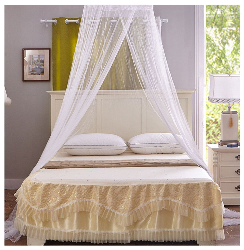 Circular Hanging Round Lace Bed Canopy Netting Bedroom Decorative Dome Mosquito Net