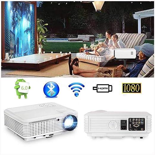 Ai LIFE Proyector WiFi Proyectores de Video WXGA 8600 Lumen con ...