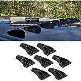 Alpha racing Air Vortex Generator Diffuser Roof Shark Fins Spoiler Wing 7pcs Set Kit