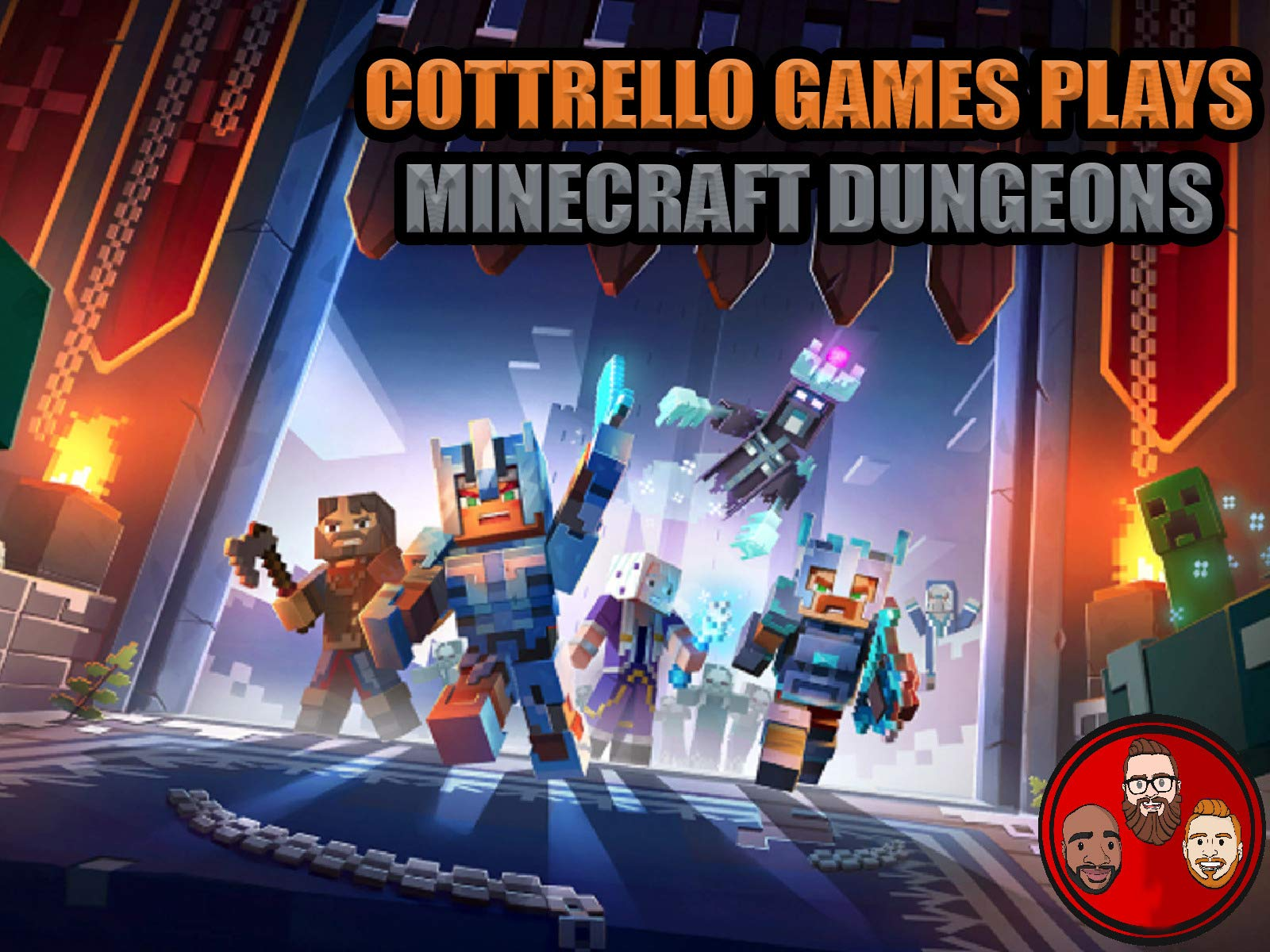 Clip: Minecraft Dungeons Playthrough with Cottrello Games