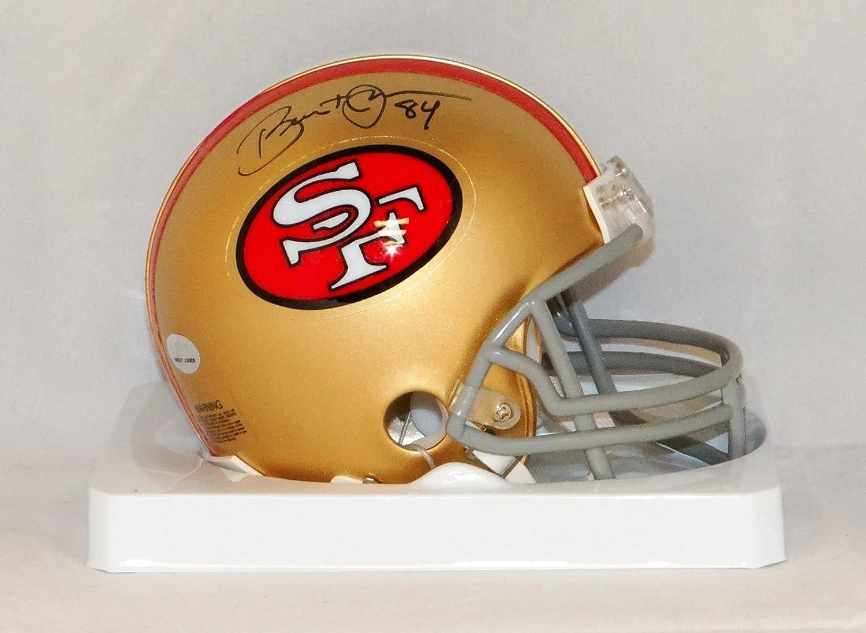 Amazon.com  Brent Jones Autographed San Francisco 49ers TB Mini Helmet- JSA  W Authenticated  Sports Collectibles 67b7b0198