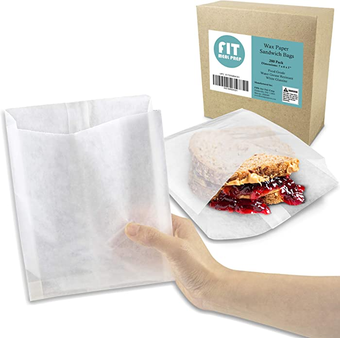 Top 10 7X5 White Food Bags