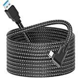 dethinton USB C Link Cable 16ft Nylon Braided, Compatible for Oculus Link Cable Compatible for Quest 2 and Quest to a Gaming