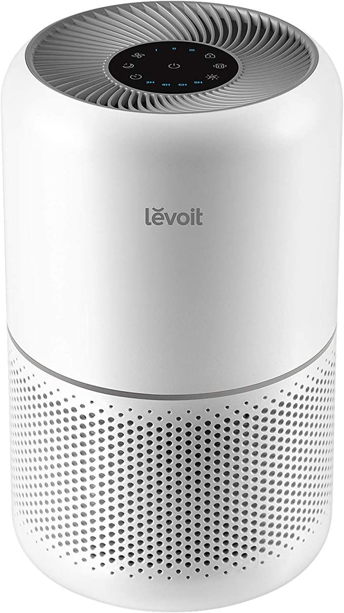 LEVOIT Air Purifier for Home Allergies Pets Hair Smokers in Bedroom, H13 True HEPA Air Purifiers Filter