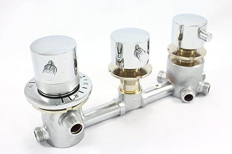 Five way miscelatore doccia rubinetto termostatico set deviatore