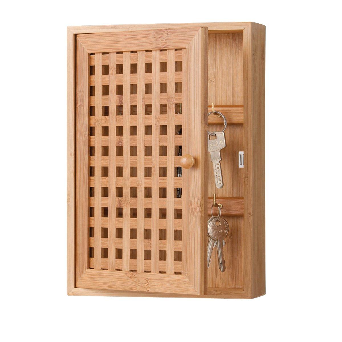 Amazon.de: Zeller 13876 Schlüsselkasten 19 x 6 x 27 cm, Bamboo