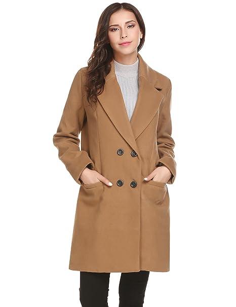 Amazon.com: HOTOUCH - Chaqueta para mujer de invierno con ...