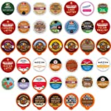 Crazy Cups Custom Variety Pack Flavored Coffee Single Serve Cups For Keurig K cup Brewers, 40 count (Premium Sampler)