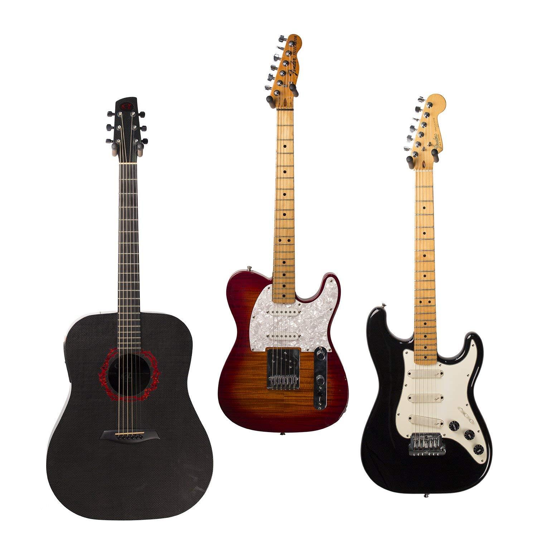 String Swing CC01KOAK, Colgador de Pared para Guitarra y Soporte Pared Guitarra de Roble: Amazon.es: Instrumentos musicales