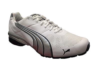 a81652ee2986 New Puma Men s Cell Hiro TLS Running Shoe White Silver 8
