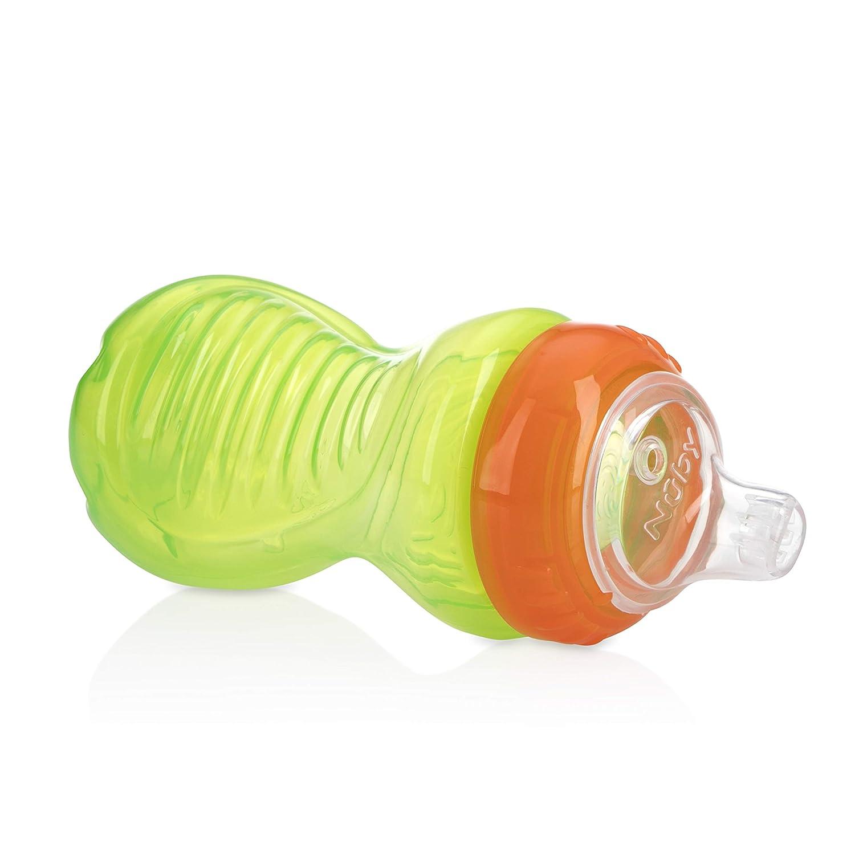 Amazon.com: Nuby taza de fácil agarre, 10 onzas, Paso 2, Los ...