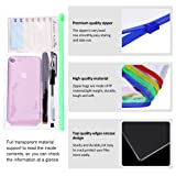 YoungRich 20 PCS Zipper Bags Colored Poly Zip