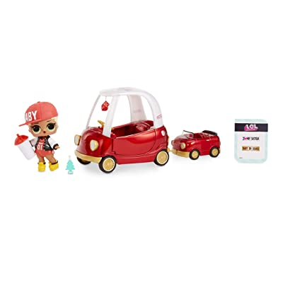 L.O.L. Surprise! Furniture Cozy Coupe with M.C. Swag & 10+ Surprises: Toys & Games