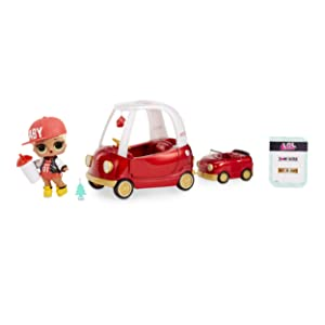L.O.L. Surprise! Furniture Cozy Coupe with M.C. Swag & 10+ Surprises