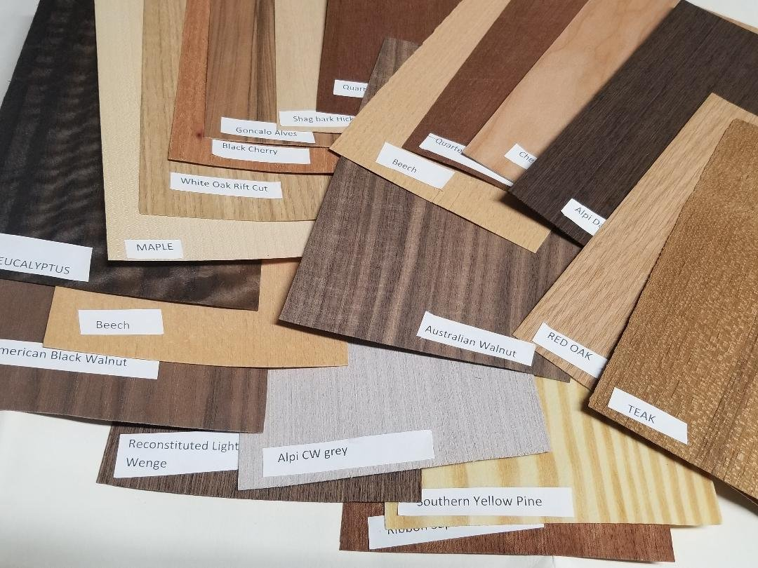 Amazon Com Wood Veneer Sheets Variety Pack Mix Of Exotic