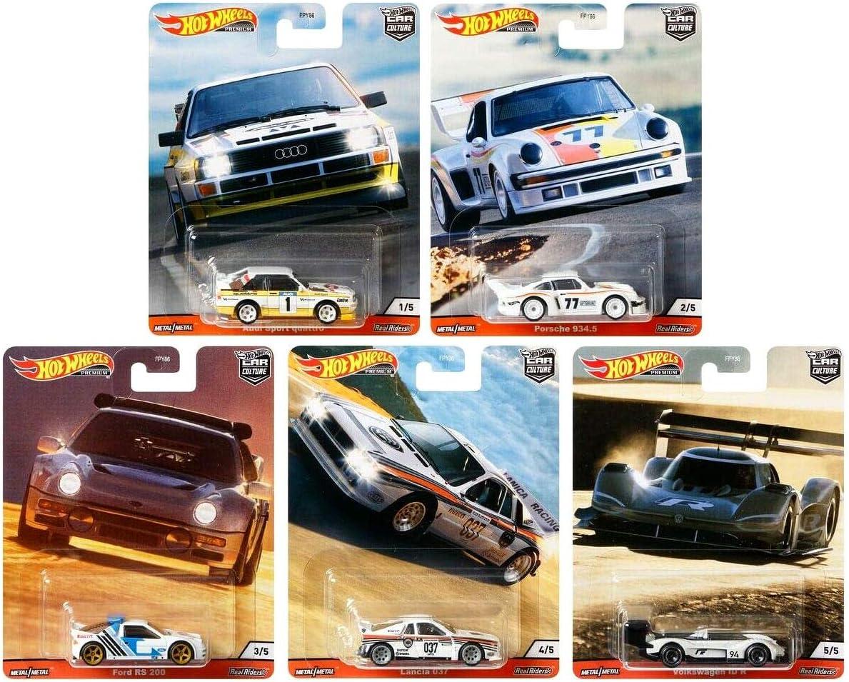 Thrill Climbers 2020 Car Culture Hot Wheels Premium Set 5 Modelle FPY86-979R