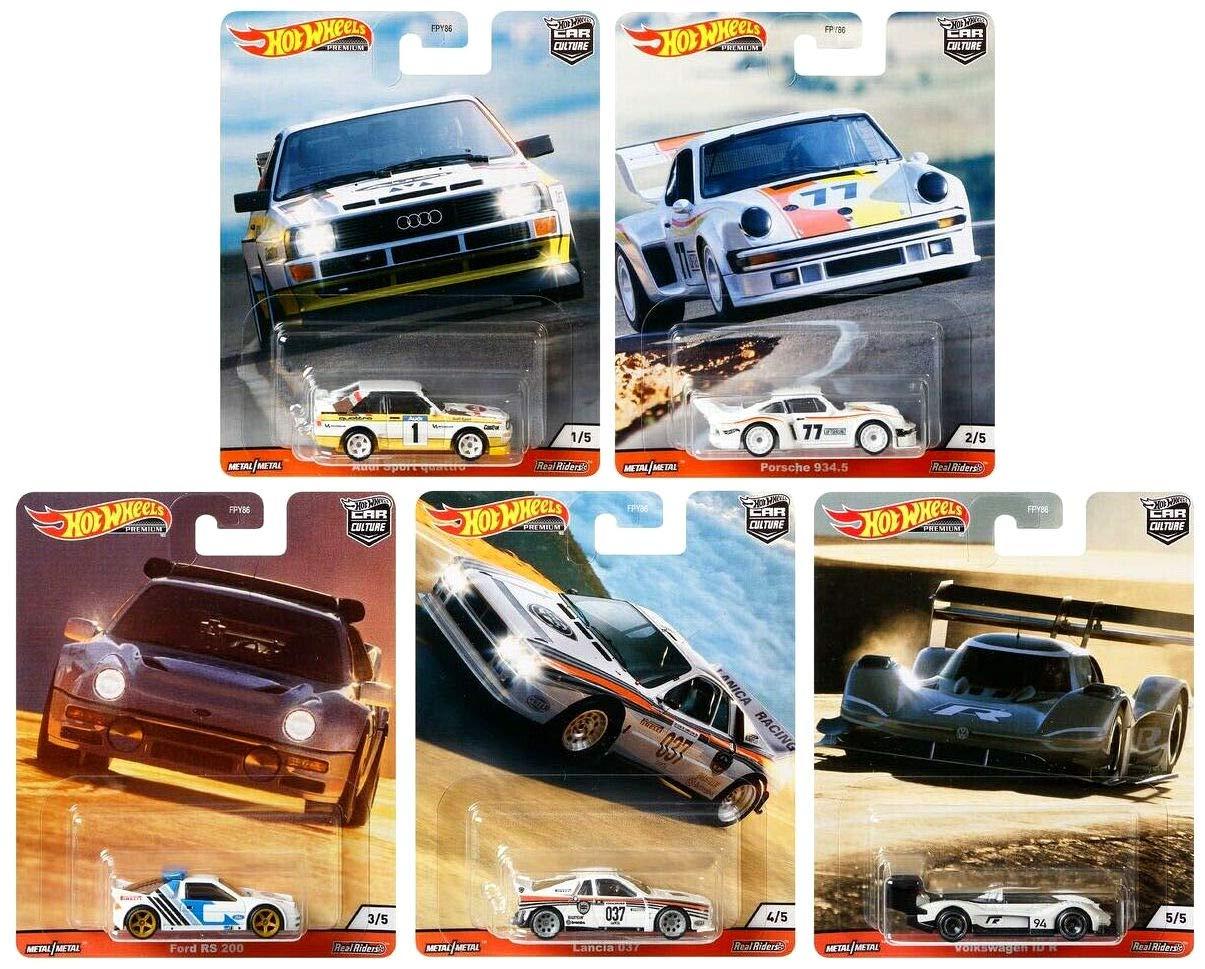 Hot Wheels Premium 2020 Car Culture Thrill Climbers Set of 5