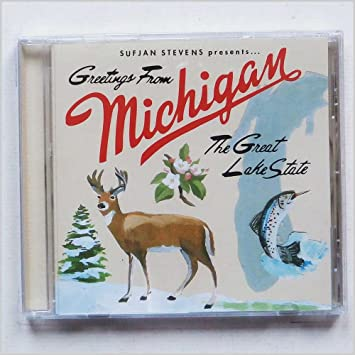Sufjan stevens greetings from michigan the great lake state greetings from michigan the great lake state music cd m4hsunfo