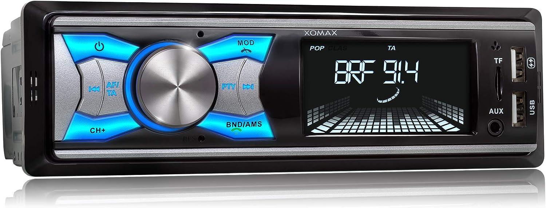 Xomax Xm Rd264 Autoradio Mit Dab Tuner Und Antenne Elektronik