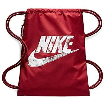 Nike Unisex Heritage Graphics Gym Sack BA5431 (Team Red White Graphic)   Amazon.ca  Sports   Outdoors a7de29963a837